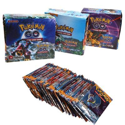 New 36 Packs 324pcs Pokemon Go TCG Booster Box English Edition Break Point Cards