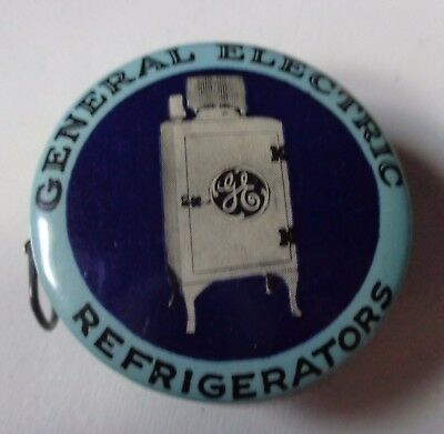 Antique General Electric Refrigerator Advertising Celluloid Tape Measure