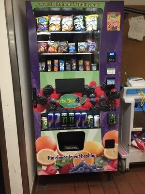 1 Healthy 4 You Vending Machine 2016 with WIFI & CC Machine