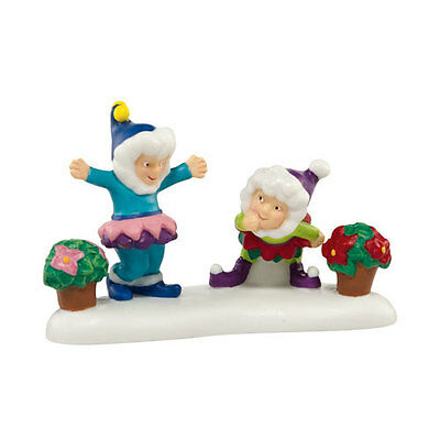 Department 56 North Pole - A BLOOMIN' MERRY CHRISTMAS - Retired