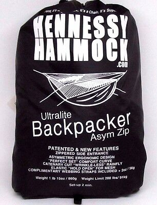 Hennessy Hammock Ultralite Backpacker Asym Zip Hammock Coyote Brown