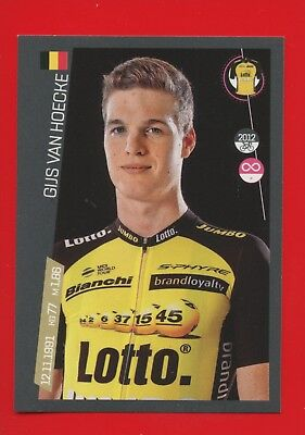 100° GIRO D'ITALIA -Panini 2017-Figurina-Sticker n. 281 - VAN HOECKE -LOTTO-New