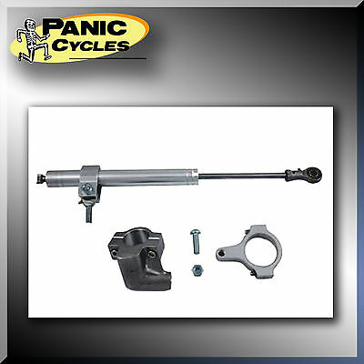 Daytona Fork Steering Damper Stabilizer Kit For Harley Fxst /b/d  2000-2007