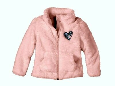 Lupilu Girls Pink Warm Fleece Jacket 4-6 years 110/116 cm BNWT