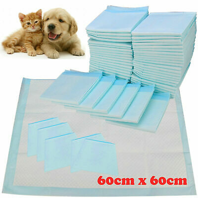20, 40,80 ,100 60X40Cm Large Puppy Training Pads Toilet Mats Pet Dog Cat Puppy