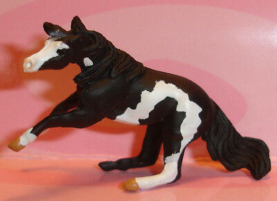 Breyer Black Pinto / Paint Mini Whinnie CUTTING STOCK MARE of 6 Mares set 300101