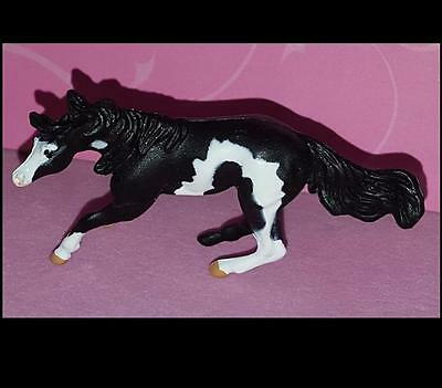 Breyer Black Pinto Mini Whinnie CUTTING STOCK MARE of 6 Mares set 720007