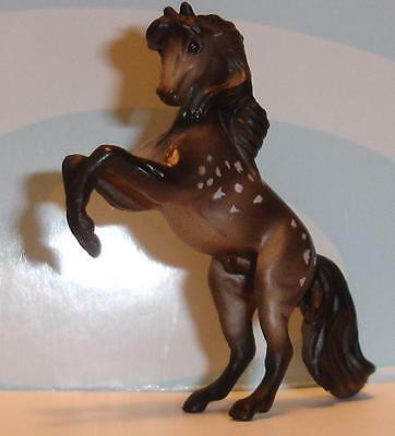 Breyer Mini Whinnie dapple grey REARING ANDALUSIAN STALLION 300100