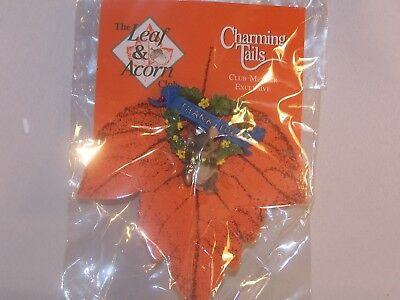 """Charming Tails Lapel Pin, """"Thank You"""", Member Exclusive, L and A Club"""