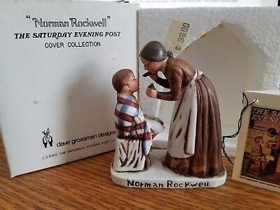 """Norman Rockwell """"Take Your Medicine"""" 4 inch NR-218 FREE SHIPPING"""