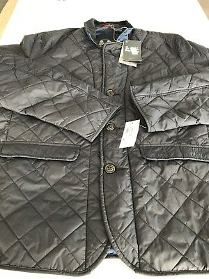 NWT $279 Barbour Beauly Quilted Jacket - Navy - Extra Large