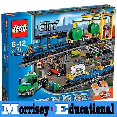 LEGO City Cargo Train 60052 - MORRISEY EDUCATIONAL