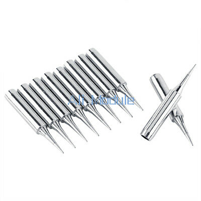 2PCS Silver 900M-T-I Soldering Iron Pencil Tips with Pointed Tip for 936 937