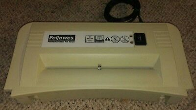 Fellowes Powershred PS55 Head Only Paper Shredder Mulcher Beige Tested Working
