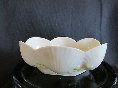 Belleek  Shell And Coral Bowl 1960,s-1980 / Shell Porcelain Bowl/marine