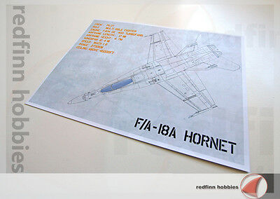 4FX Dioramics Aircraft Display Base for F/A-18A Hornet (Version 01)
