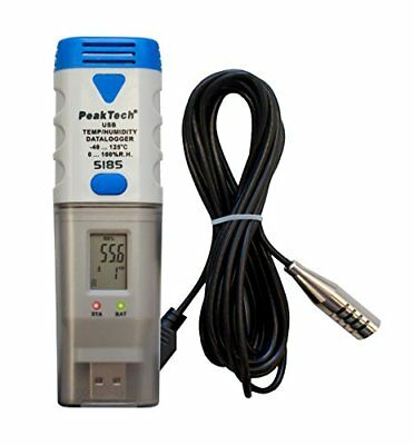 Peak Tech Data Logger – USB Temperatura Data Logger/registratore con (D1N)