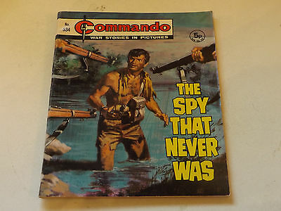 Commando War Comic Number 534,1971 Issue,v Good For Age,46 Years Old,very Rare.