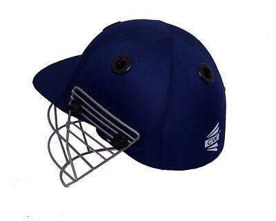 "CW ""Practice"" Basic Navy Blue Cricket Helmet for safety protection +Free Ship"