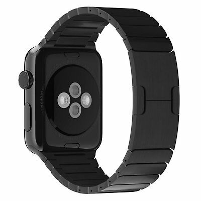 Butterfly Link Bracelet Stainless Steel Band Strap For Apple Watch 42mm