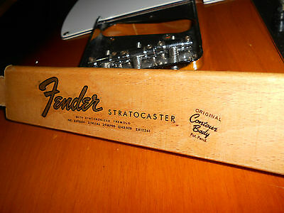Replacement decal for 1965-1966 Fender Stratocaster Decal Vintage Logo