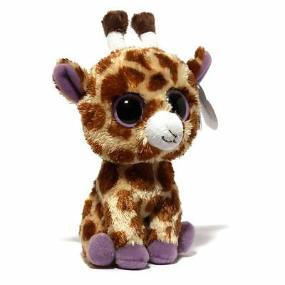 """safari"" The Giraffe Ty Beanie Boos   Brand New"