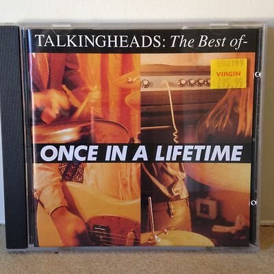 Talking Heads, The Best Of - ONCE IN A LIFETIME, Remastered CD 1992 (UK)