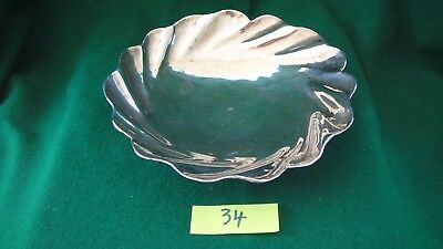 Antique,silver NUT/FRUIT BOWL, hallmarked 900,handcrafted,simple design.(34)