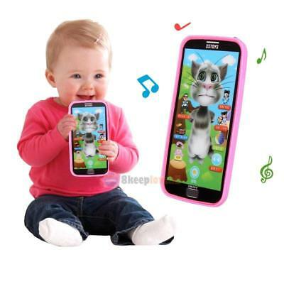 New Baby Kids Simulator Music Phone Touch Screen Kid Educational Learning Toy Gi