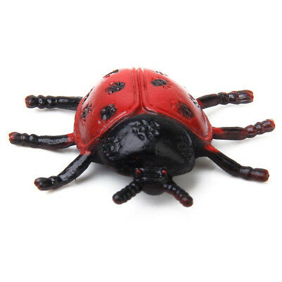 2pcs Lovely Ladybird Ladybug Insect Toy for Kids Home Decoration N6X2