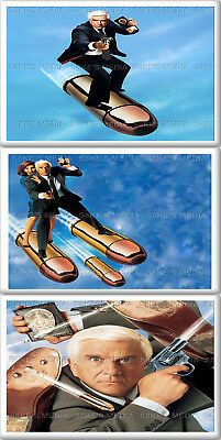 Naked Gun Fridge Magnet 50mm x 35mm