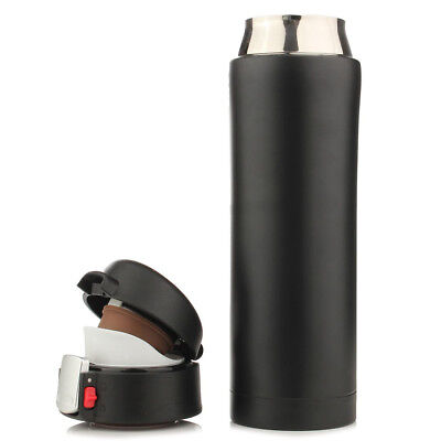 500ML Travel Mug Tea Coffee Water Vacuum Cup Thermos Bottle Stainless Steel BF