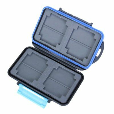 Memory Card Carrying Case Holder Hold 4 CF or 8 SD BF