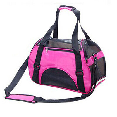 Pet Dog Puppy Travel Airline Carrier Cat Soft Sided Comfort Tote Bag 3 colors