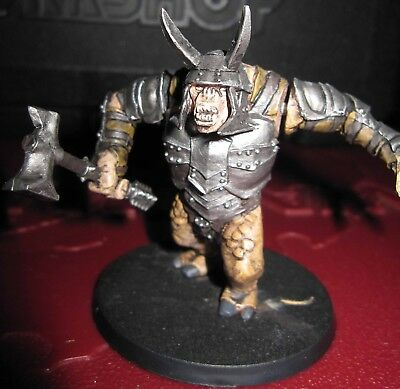 LOTR Mordor Armoured Troll well painted
