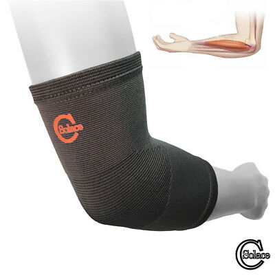 SC Elbow Support Compression Sleeve Tennis Golfers Brace Arthritis Tendonitis