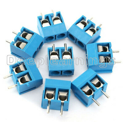 20PCS KF301-2P 5.08mm 2 Pin Connect Terminal Screw Terminal Connector NEW