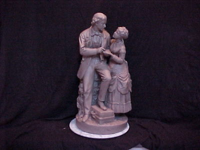 John Rogers Group of Statuary 'Parting Promise'