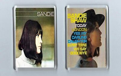 Magnets x 2 : SANDIE SHAW Sandie / Today