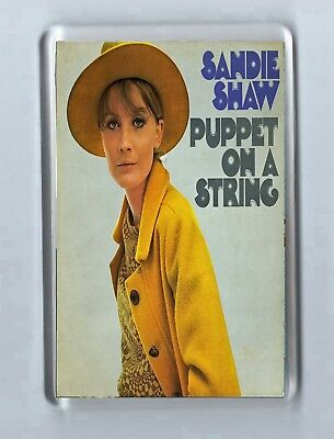 Magnet: SANDIE SHAW Puppet on a string