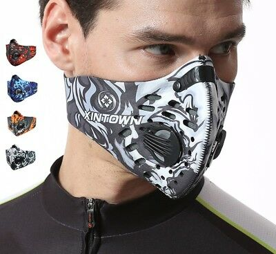 Altitude Hypoxia Training Mask Oxygen Controlled Masochist With Filter