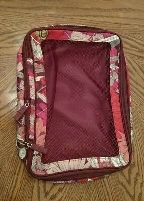 Vera Bradley Large Expandable Packing Cube Bohemian Blooms Storage Travel Tote