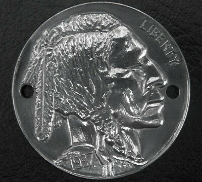 INDIAN CHIEF NICKEL Timing Points Cover Harley Shovelhead Evo S&S 3/9  Sportster