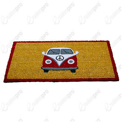 "Campervan Printed Door Mat From A La Maison - 75cm x 45cm (30"" x 18"")"