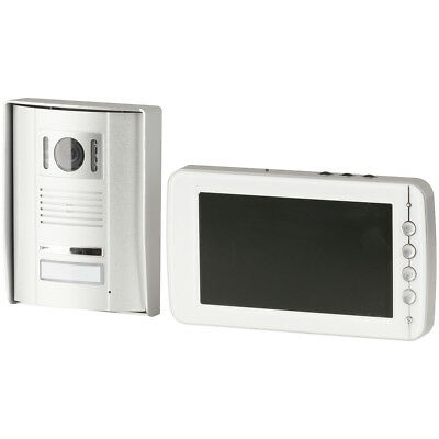 "NEW 7"" LCD Video Doorphone with IP55 IR Camera QC3696"