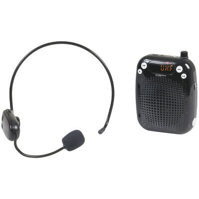 NEW Portable Wireless UHF Microphone Headset System AM4053
