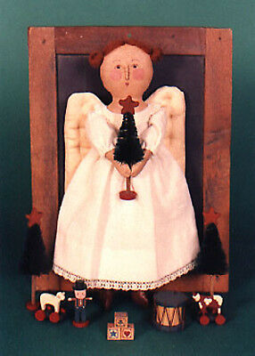 "PAINTED 8"" CLOTH ANGEL Kit & Pattern"