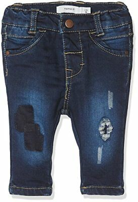 NAME IT Nitbawait Slim Dnm Pant Bru F Nb, Jeans Bimba, Blu (Dark Blue (P5N)
