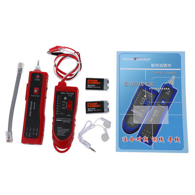 NF - 806R Tester Tracer Detector Cable Test Internet LAN Network S9T1