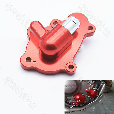 Red CNC Upgrade Water Pump Cover for Honda CRF250L/M CRF250RL Rally 2012-2017